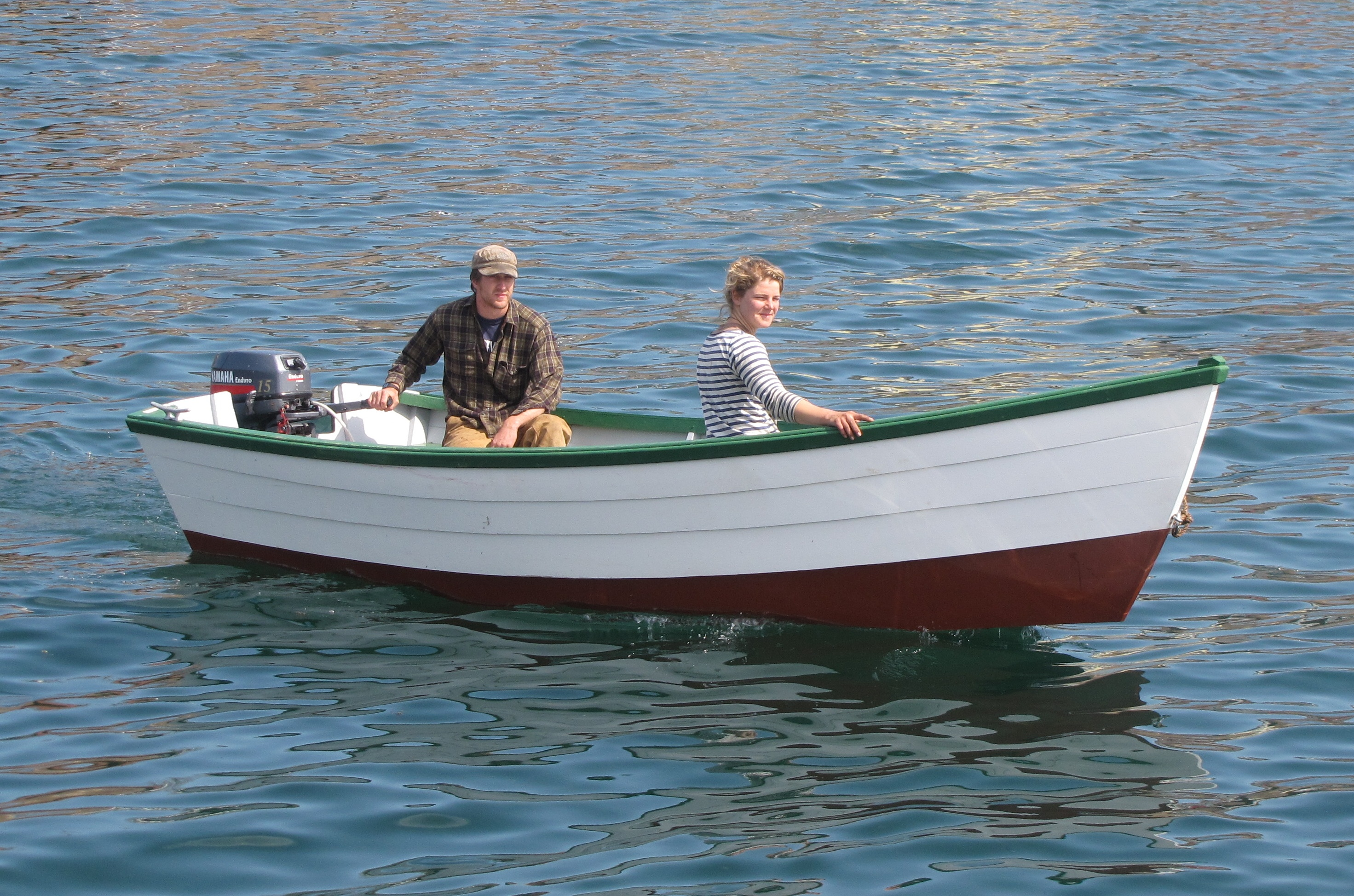 Rowing boat plans dory from finding Guide ~ Bill ship